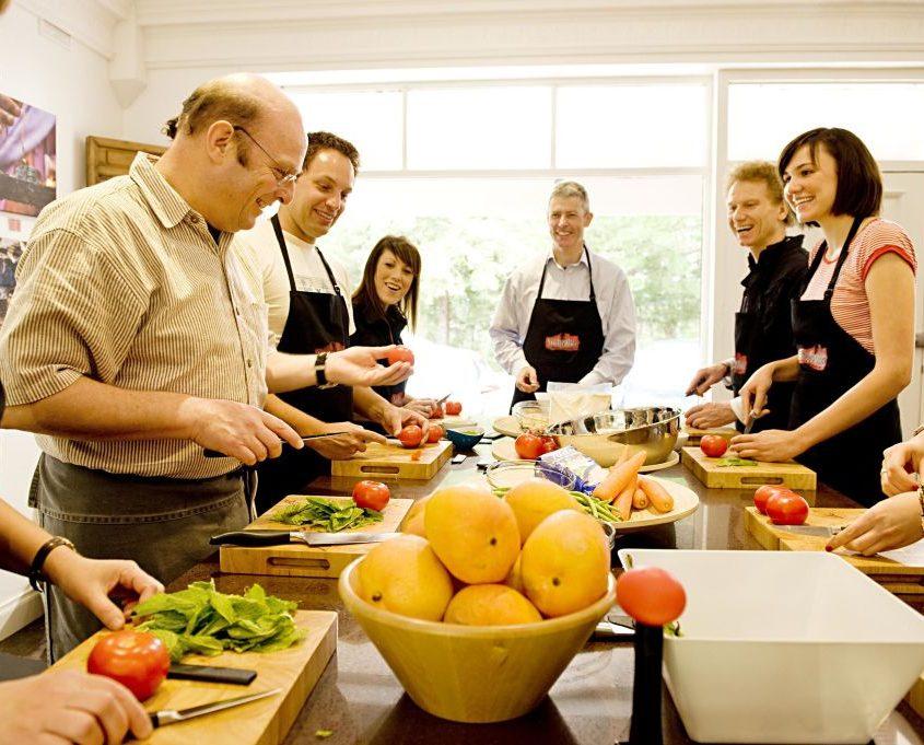 Clases de cocina para empresas