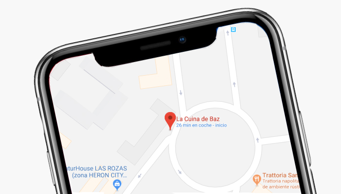 localizacion La Cuina de Baz