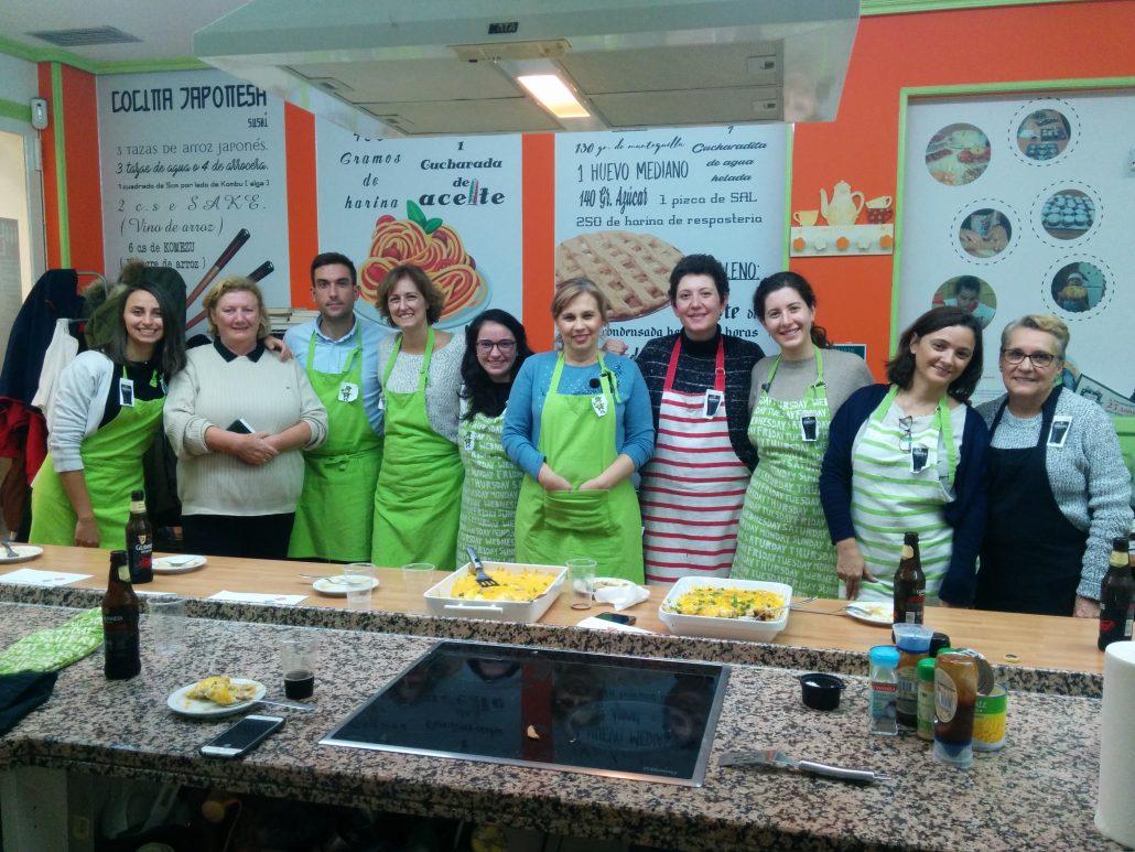 Eventos en inglés: cooking