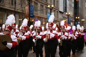 Desfile de Thanksgiving o Día de Acción de Gracias en Nueva York