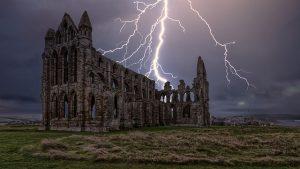 Pueblos de Inglaterra - Whitby - Abadía de Santa María